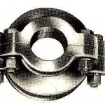 COMBINED BORE CASING - PIPE CLAMPS - CAST IRON
