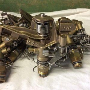 VYR 80 brass impact sprinkler