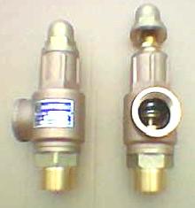 PRESSURE RELIEF VALVE  SRV BRASS & S STEEL