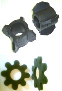 PUMP COLUMN RUBBER STABILIZERS & PROPOL PIPE CLAMPS