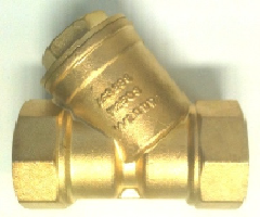 Y STRAINERS BRASS TESTED & WATERMARKED