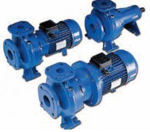 lowara end suction close coupled pumps