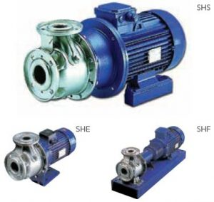 lowara stainless steel end suctiopn close coupled pump