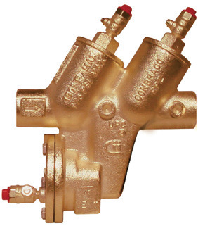 Backflow Prevention Reduced Pressure Zone (RPZ)
