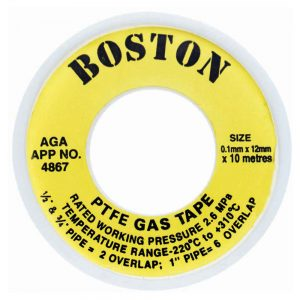 boston yellow gas tape