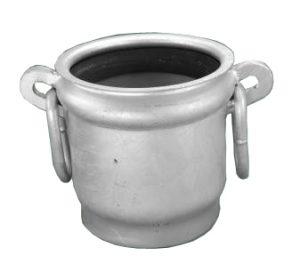 galvanised bell including gasket