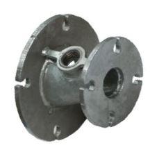 IB galvanised steel taper