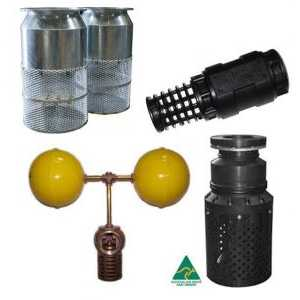 Foot Valves, Strainers