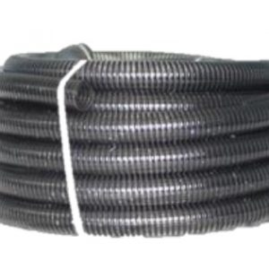 air seeder clear hose with a black helix