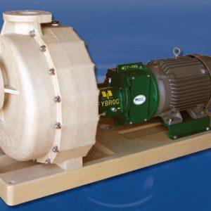 series 1600 self priming firbreglass pump