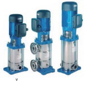vertical multistage pumps v r t