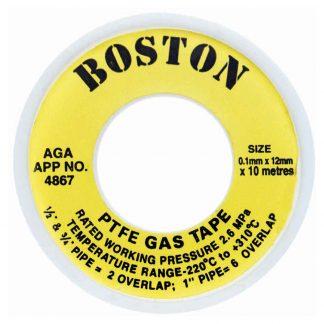 boston yellow gas tape