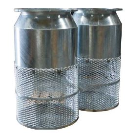 Galvanized Foot Valves and Strainers