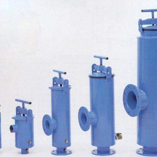 100 Series - Steel epoxy coated filters - 90deg angle