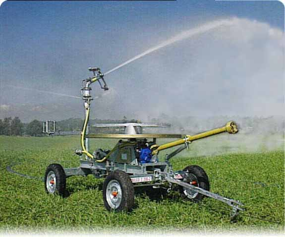 Soft Hose Travelling Irrigators