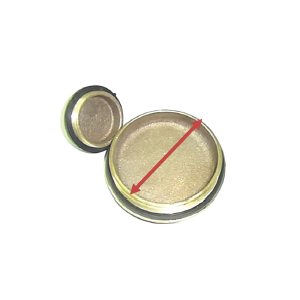 Brass Caps with Washers (Plugs)
